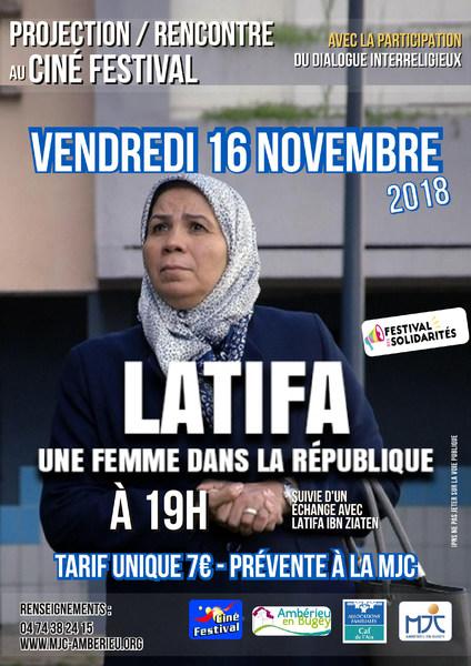 Latifa : Une Femme dans la république